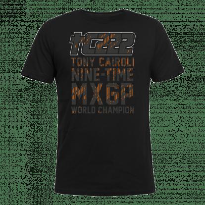 T-shirt Toni Cairoli Nine-time MXGP World Champion