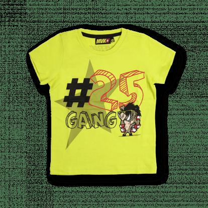 Kid # 25 gang t-shirt