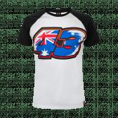 43 flag t-shirt