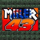 Miller 43 flag