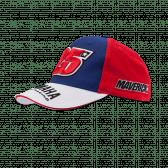Kid Viñales Yamaha dual cap