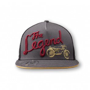 The legend cap