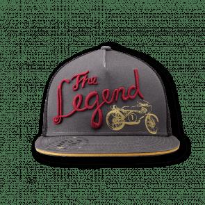 The legend cap