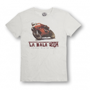 T-shirt La bala roja