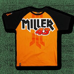 Raglan sleeve Miller 43 t-shirt