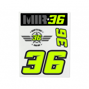 Mir small stickers set