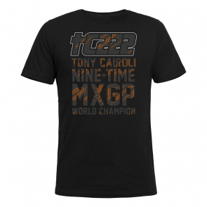 Tony Cairoli Nine-time MXGP World Champion t-shirt