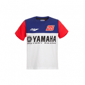 T-shirt Yamaha dual Viñales junior