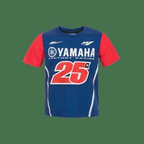 Camiseta Viñales Yamaha dual niño
