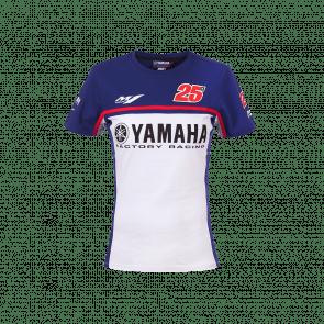 T-shirt Yamaha dual Viñales donna
